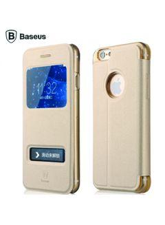Flip-Cover Baseus Gold für Phone 6