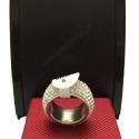 Klassische Sechs Reihe Modeschmuck Ring