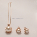 Perle Jewerly Sets 18K Rose Gold