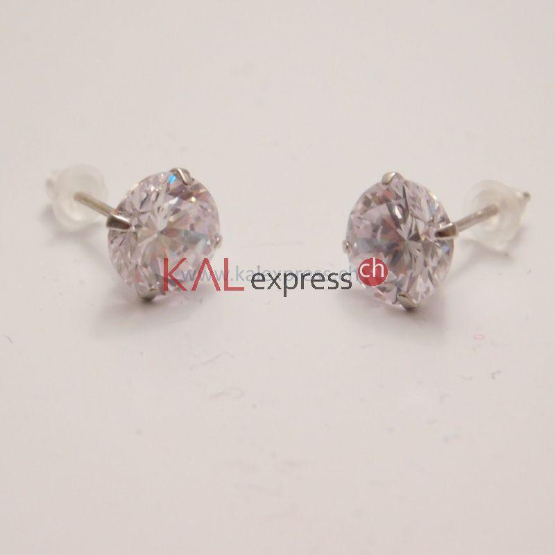 Echte diamant ohrringe