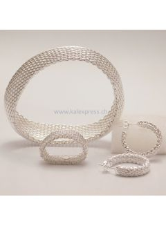 Antiallergic Closed Mesh-Ring